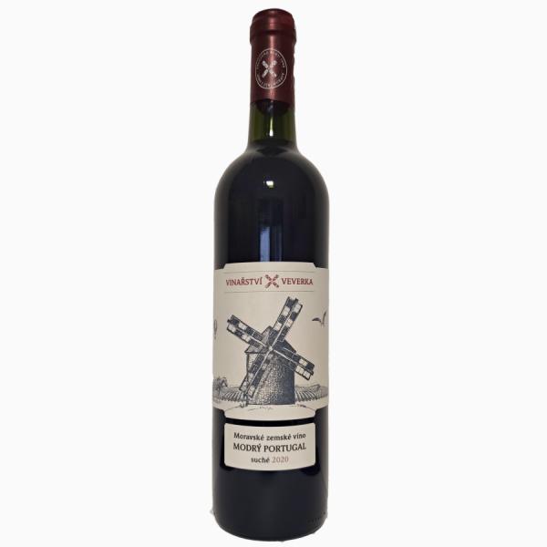 Vinařství Veverka Modrý portugal
