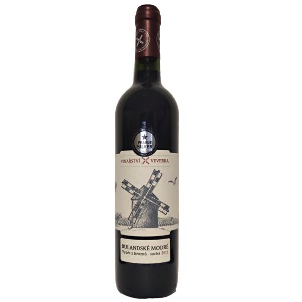 Vinarstvi Veverka Rulandske modre